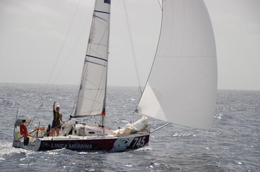 Downwind Racing Sail