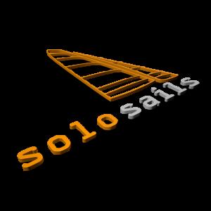 Solo Sails Sailmakers 3D Logo
