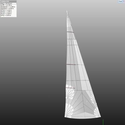 Solo Sails #3 jib