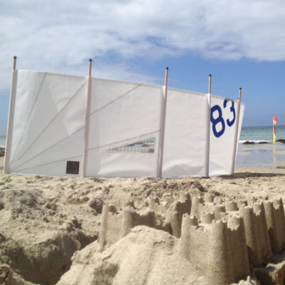 Beach Windbreak Sailcloth