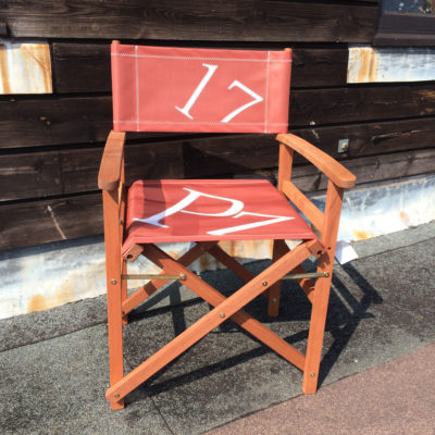 Sailcloth Directors Chair in Traditional Tan Coloured Cloth