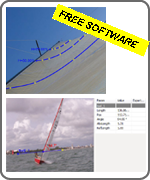 Sail Camber analytical software