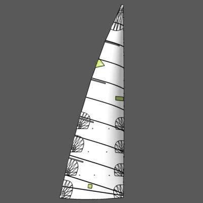 Used Mainsail 12.9m X 4.2m