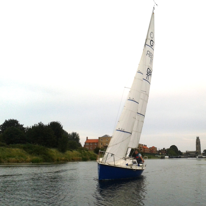 Gem Micro Sails Upwind