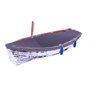 CAD design of boat cover